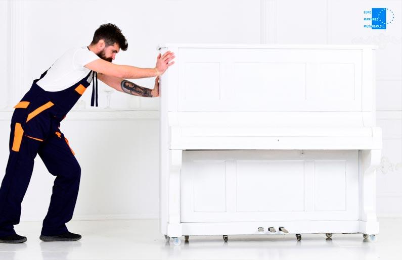 Consejos para trasladar un piano